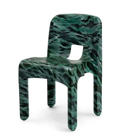 Chaise model joe colombos universal chairfrom the redesign for Chaise modele
