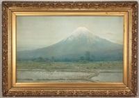 mount fuji by tajiero hasekawa