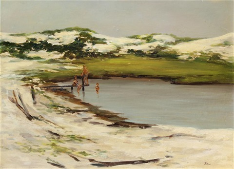 boys on the beach by robert r bliss