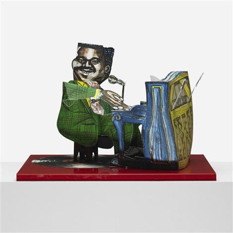 fats domino by red grooms