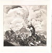 uscita dall'arca by anselmo bucci