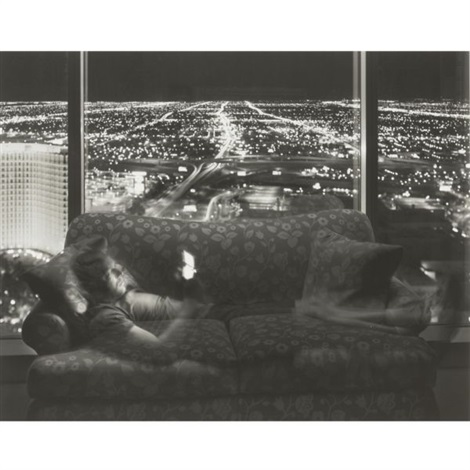 nathan noland grand hyatt from nighttime television studies 2 others 3 works various sizes by matthew pillsbury