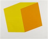yellow/orange by ellsworth kelly