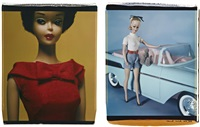 untitled (+ untitled (from barbie miillicent roberts), lrgr; 2 works) by david levinthal