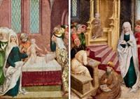 die beschneidung christi (+ der zwölfjährige christus unter den schriftgelehrten; pair) by austrian school-tyrolean (16)