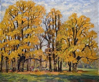 autumn leaves by rudolf hause