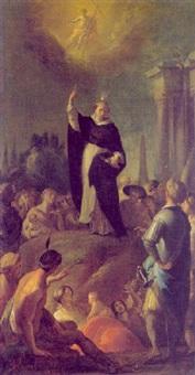die predigt eines dominikanerheiligen by bartholomäus altomonte