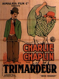 trimardeur/ work - charlie chaplin by posters: advertising