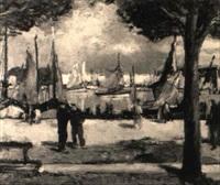 hafenpromenade by pierre langlade