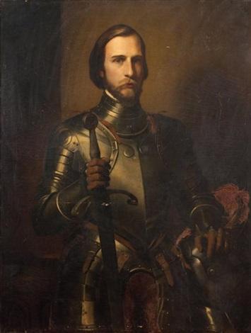 portrait de ferdinand dorléans en armure by jean auguste dominique ingres