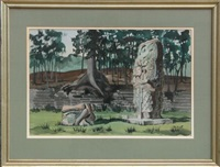 untitled (ruins) by mabel scott