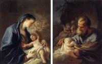 maria mit dem jesusknaben by josef ignaz mildorfer