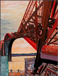 forth rail bridge by doug scott