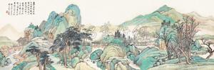 松山野寺 by wang kun