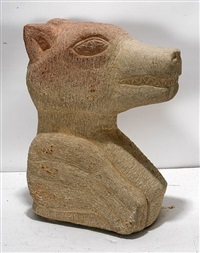 bear head by tim lewis