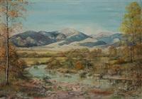 western landscape by elizabeth lochrie