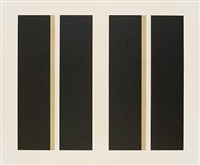 untitled, vertical lines by john mclaughlin