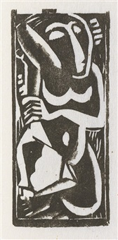 woodcuts and linoleum blocks (vol. w/33 works) by max weber