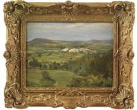 an extensive landscape by robert payton reid