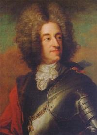 portrait of maximilian emmanuel, elector of bavaria by joseph vivien