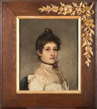 ritratto di madame moulte by emile jules pichot