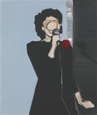 wokalistka by wilhelm sasnal