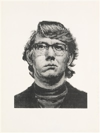 keith iv, state ii by chuck close