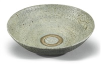large shallow bowl by lucie rie