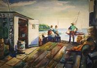 clam shack, pier st. anne by joseph newman