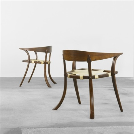 captains chairs pair by arthur espenet carpenter