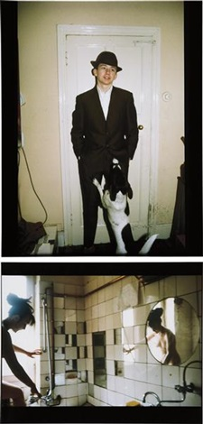 i mod kid with dog london 1980 ii käthe in the tub berlin 1984 2 works by nan goldin