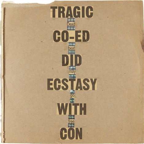 tragic co ed did ecstasy with con dead beat may still go free by dash snow