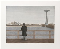 coney island, self-portrait by max ferguson