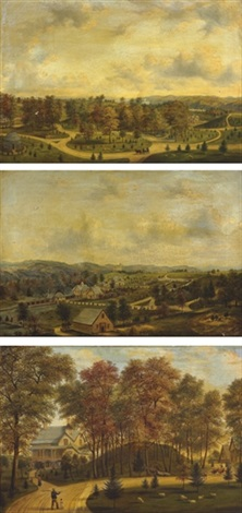 three views of springside by henry c gritten