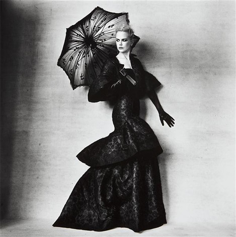 nicole kidman in an olivier theyskens design for rochas new york july 13 by irving penn