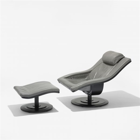 move chair and ottoman by om design erik marquardsen and takashi okamura