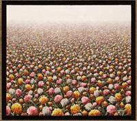 paisaje con flores by casiano garcía jarquin