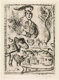 le village by marc chagall