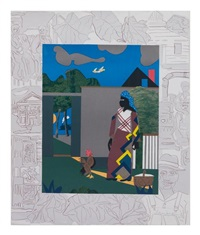 pepper jelly lady by romare bearden