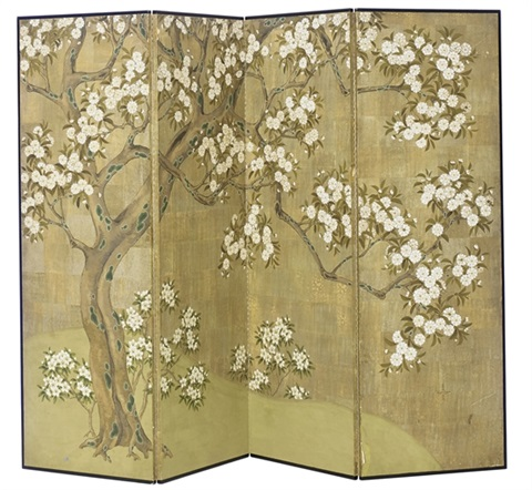 four-panel screen by robert crowder