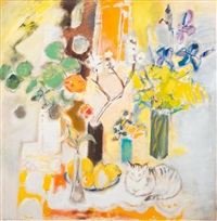 spring table by anita snellman