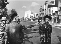saigon - general nguyen ngoc loan executing a viet cong prisoner nguyen van lém by eddie adams