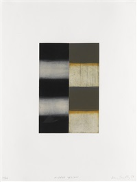 mirror yellow by sean scully