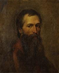 homme barbu by edouard moyse