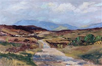 the mountains near lough fea, cookstown, co. tyrone by rowland hill