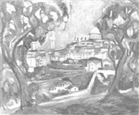 stadt im italien by arthur kaufmann