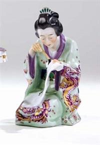 sitzende japanerin by alfred otto könig