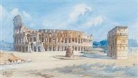 das colosseum in rom by giovanni facciola