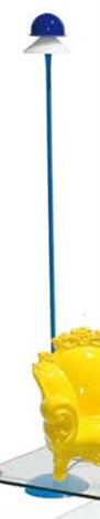 lampada da terra modello segno by gregotti associati