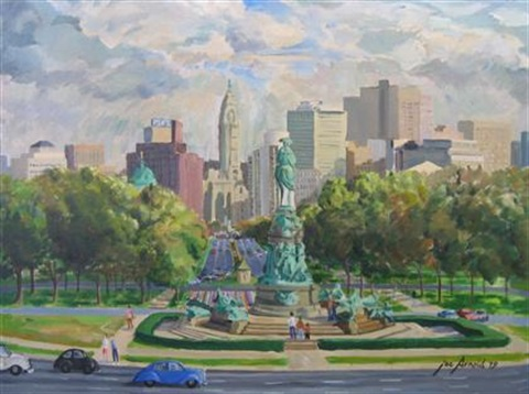 logan circle philadelphia by joseph y arnold